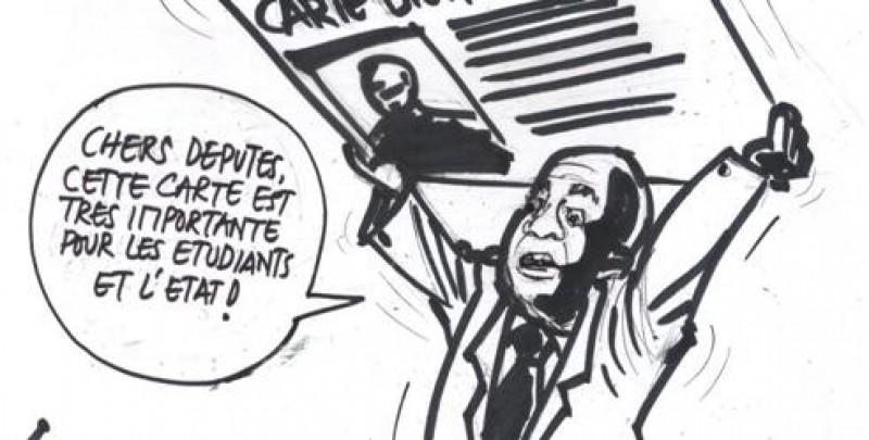 Dossier Carte biométrique pour étudiant. Assemblée Nationale : Steve Mbikayi s'explique !